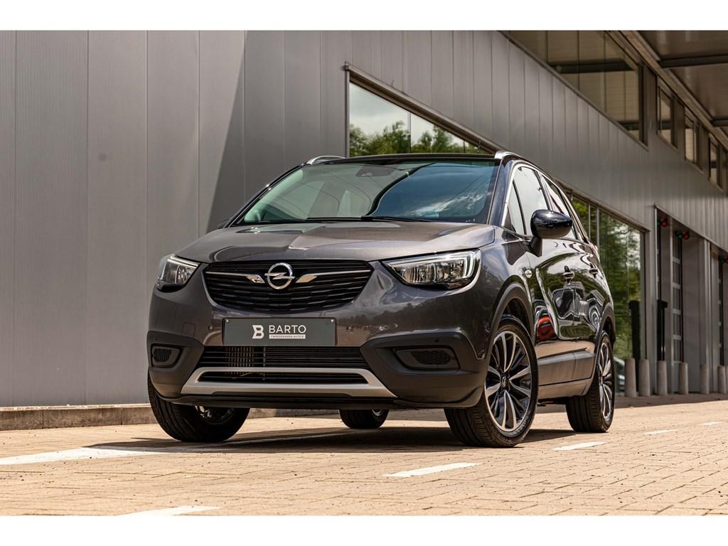 Tweedehands te koop: Opel Crossland X Grijs - 15 Diesel Innovation Navi Offlane ParkeersensVermoeidsheidsdet