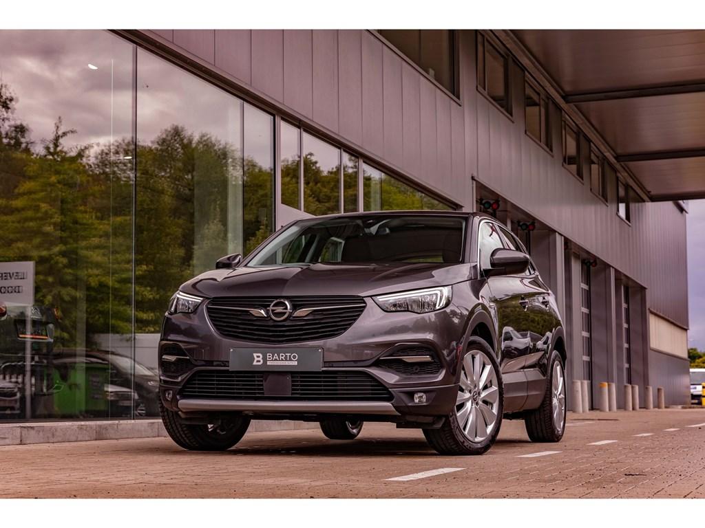 Tweedehands te koop: Opel Grandland X Grijs - 130PK AT8 InnovationCameraDodehoekAutoInparkeren