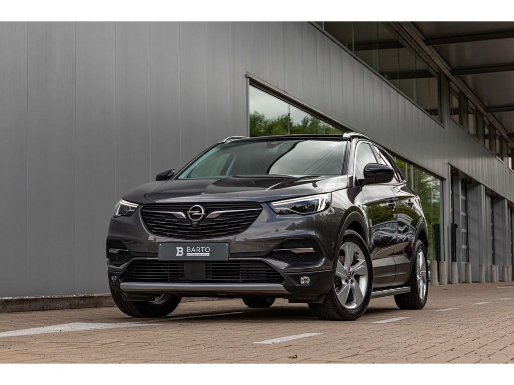 Tweedehands te koop: Opel Grandland X Grijs - Innovation 20 Turbo D 177pk AUTOMAAT Leder Black Roof Pack Topuitvoering 2000kg trekverm