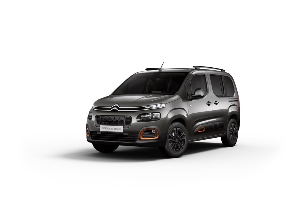 Tweedehands te koop: Citroen New Berlingo Grijs - BERLINGO Maat M 15 BlueHDi 130 EAT8 SS SHINE