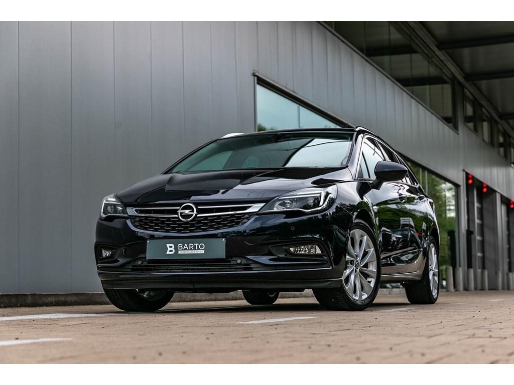 Opel-Astra-Blauw-Break-14T-150pk-Innovation-CameraDodehoekAuto-Inparkeren