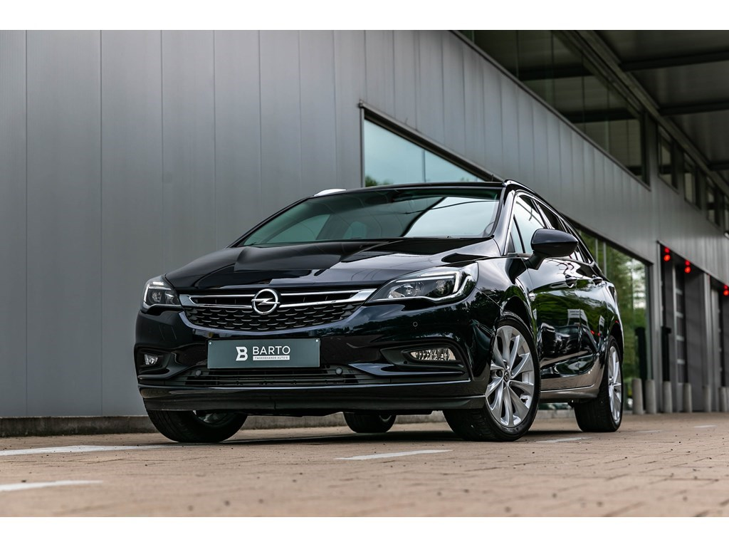 Tweedehands te koop: Opel Astra Blauw - Break 14T 150pk Innovation CameraDodehoekAuto Inparkeren