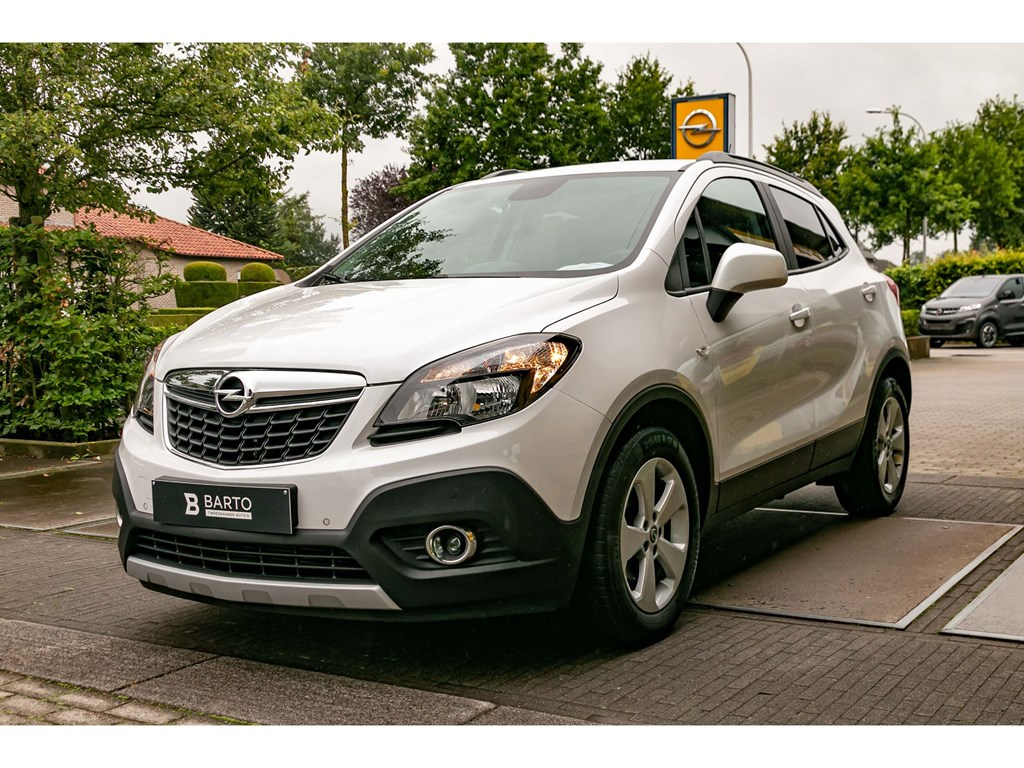 Tweedehands te koop: Opel Mokka Wit - 16 CDTIEnjoyNaviCameraParkeersensAirco