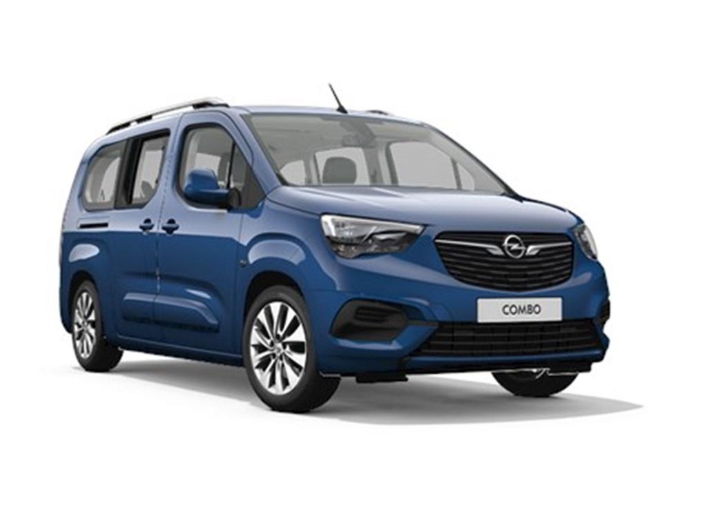 Tweedehands te koop: Opel Combo Life Blauw - XL Edition 12 Turbo benz Manueel 6 StartStop - 110pk 81kw - 7zits - Nieuw
