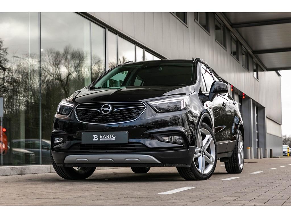 Tweedehands te koop: Opel Mokka X Zwart - 14T Autom Pano dak Matrix 19