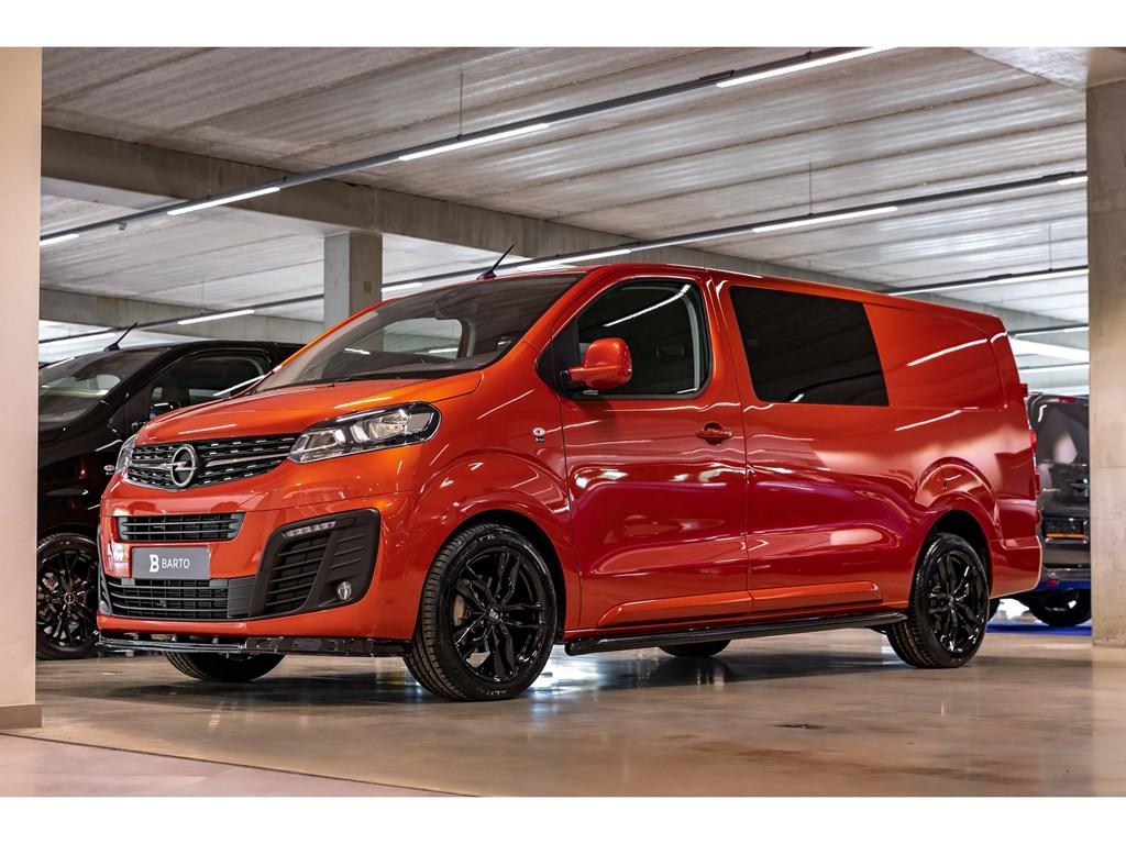 Tweedehands te koop: Opel Vivaro Oranje - Dubbele Cabine Edition L3H1 Verhoogd Laadvermogen 20 Turbo D 120pk - 5pl - Nieuw