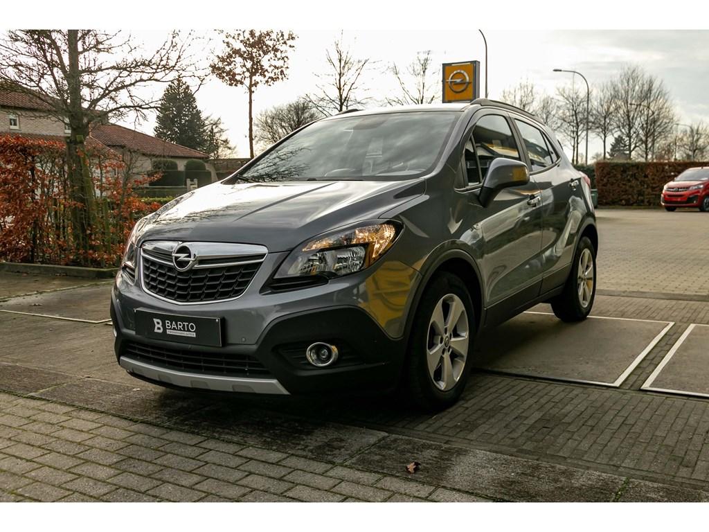 Opel-Mokka-Grijs-14T-Benz-140pkNaviTrekhaakCameraParkeersens