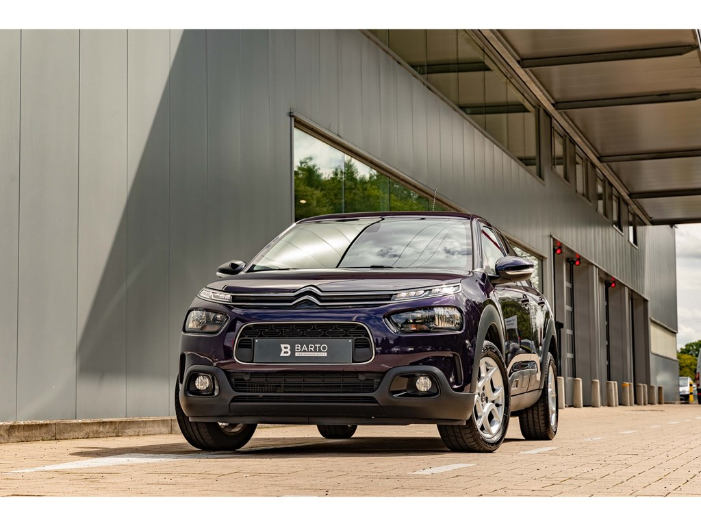 Tweedehands te koop: Citroen C4 CACTUS Blauw - Benz 110pk Automaat Navi Camera Shine