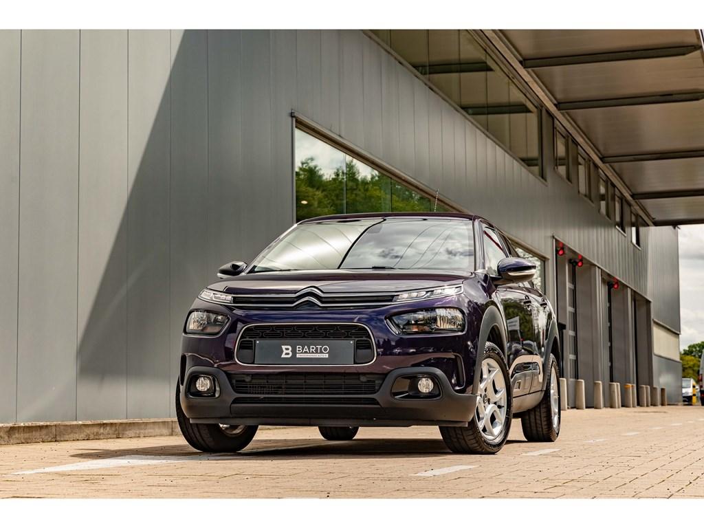 Citroen-C4-CACTUS-Blauw-Benz-110pk-Automaat-Navi-Camera-Shine