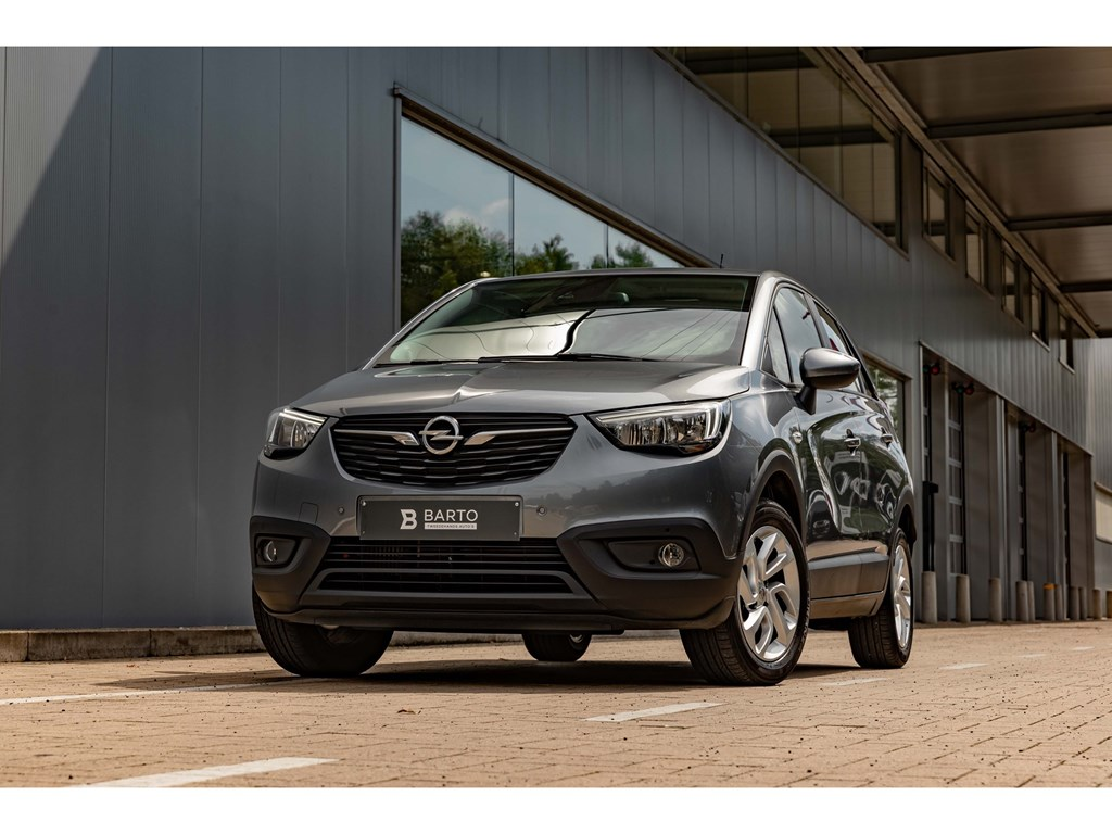 Tweedehands te koop: Opel Crossland X Grijs - 12benzCameraParkeersensvaOfflane