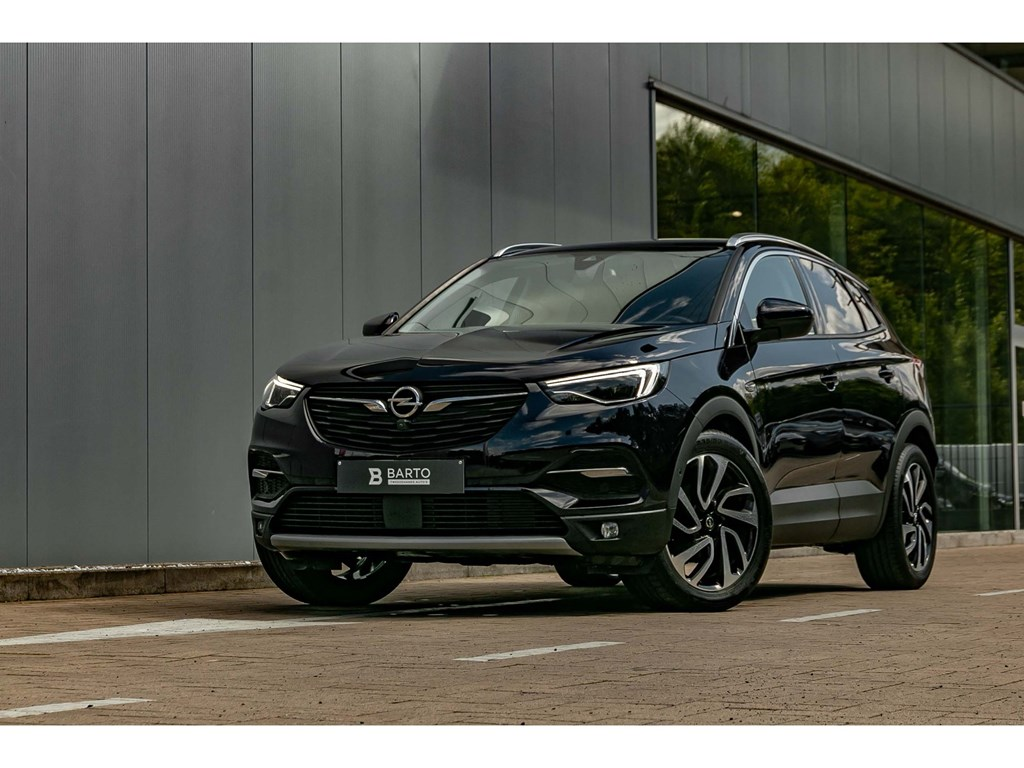 Tweedehands te koop: Opel Grandland X Purper - 16dieselVolledig Leder360Camera19Elektr Koffer