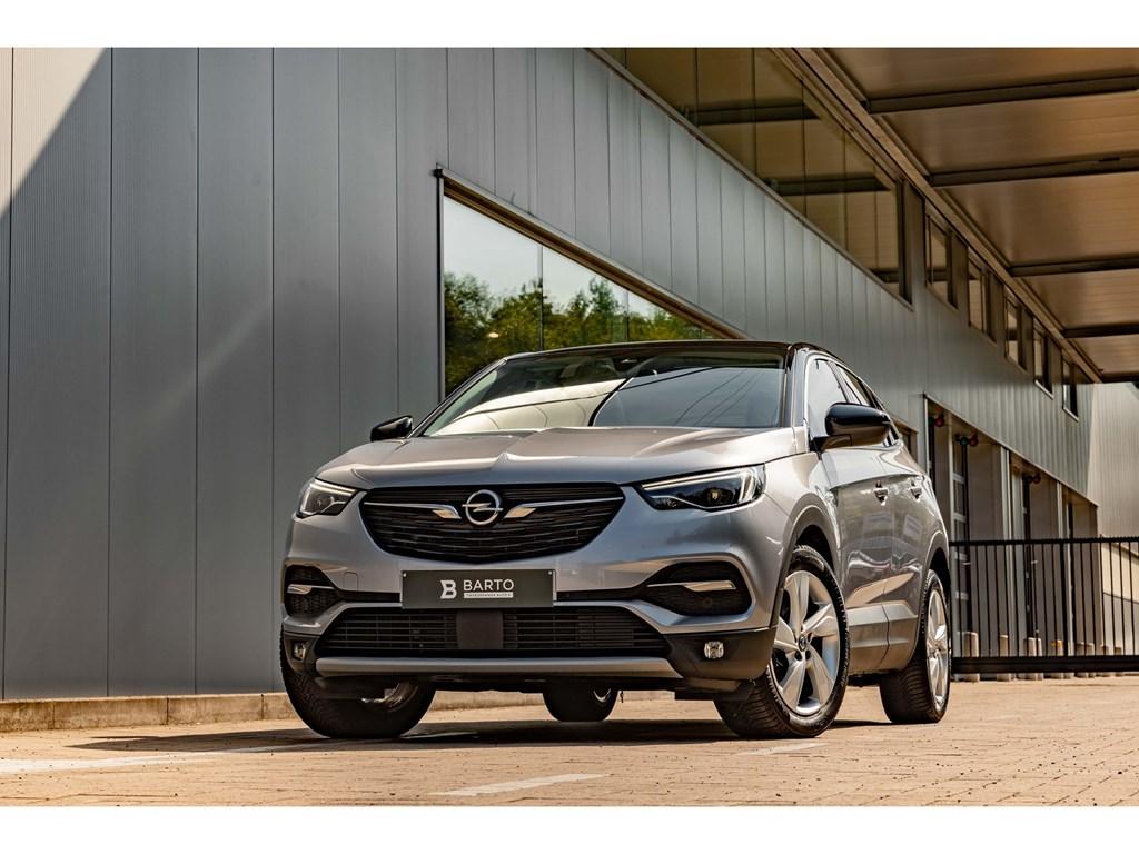 Tweedehands te koop: Opel Grandland X Grijs - 16Benz 180PK AT8Pano DakElektr KofferLEDDodehoek