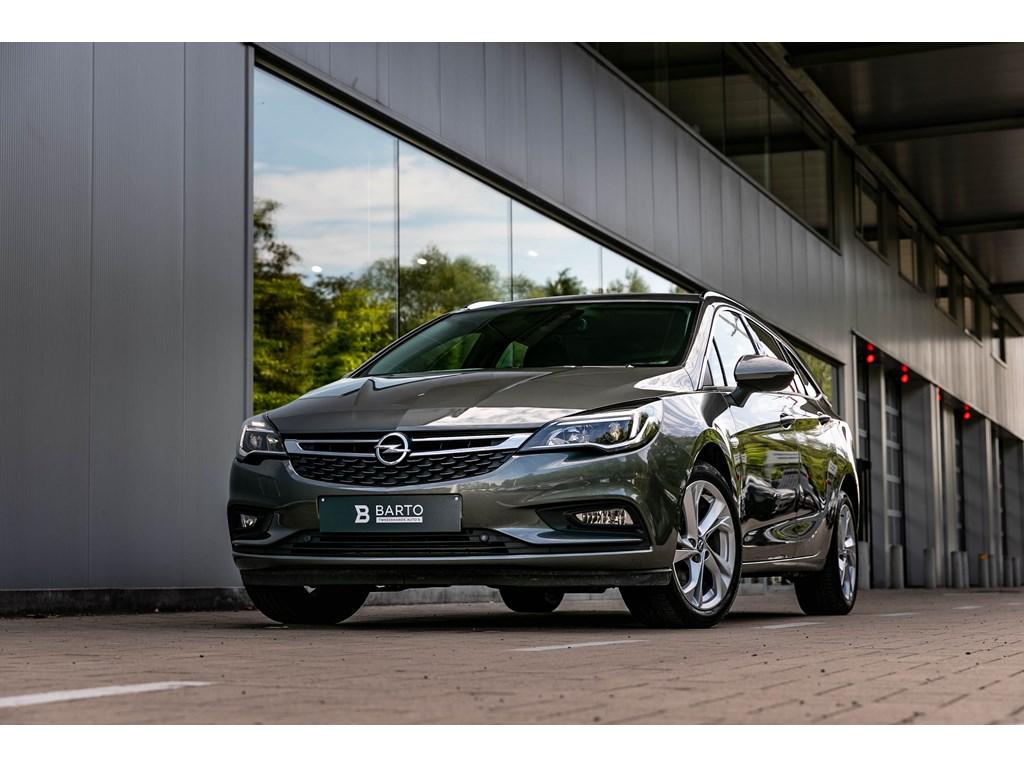 Tweedehands te koop: Opel Astra Grijs - BreakAutomInnov16DNaviOfflane Parkeersens