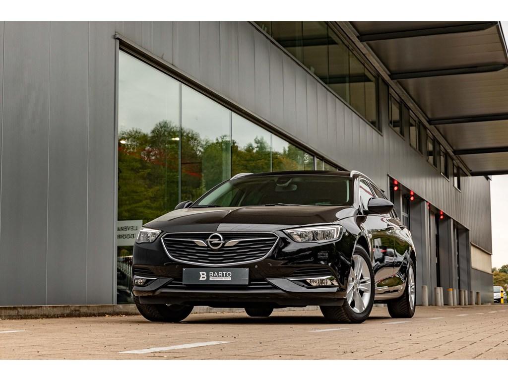 Tweedehands te koop: Opel Insignia Zwart - 15BenzInnovationLederKeylessElektr Koffer