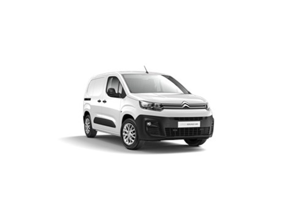 Tweedehands te koop: Citroen New Berlingo Wit - Van Maat M Light 15 BlueHDi 100 SS MAN Club