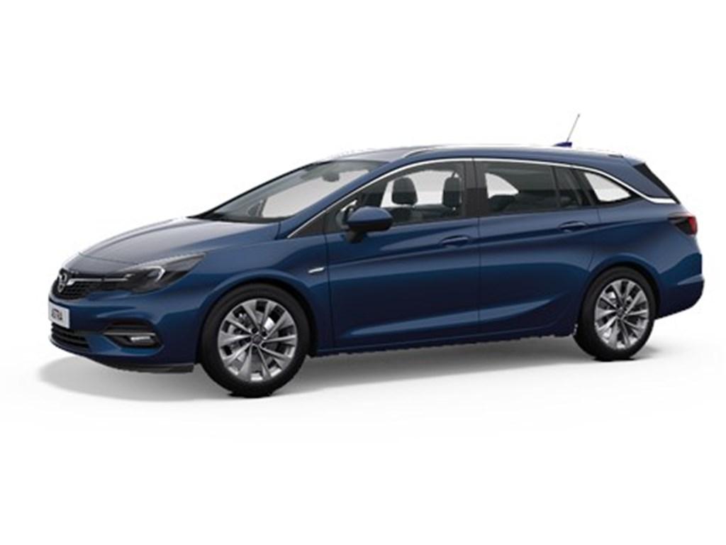 Tweedehands te koop: Opel Astra Blauw - Sports Tourer 12 Turbo Benz 110pk SS Manueel 6 - Elegance - Nieuw