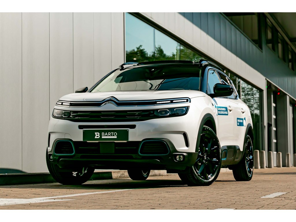 Tweedehands te koop: Citroen C5 AIRCROSS Wit - C5 Aircross HYBRID Shine