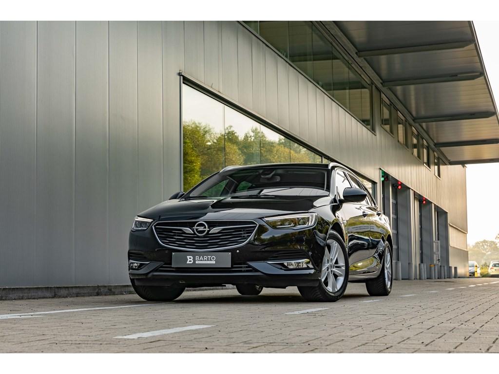 Tweedehands te koop: Opel Insignia Zwart - Sports Tourer 15 Benz 165pkCameraElektr KofferDodeHoekOfflaneNavi