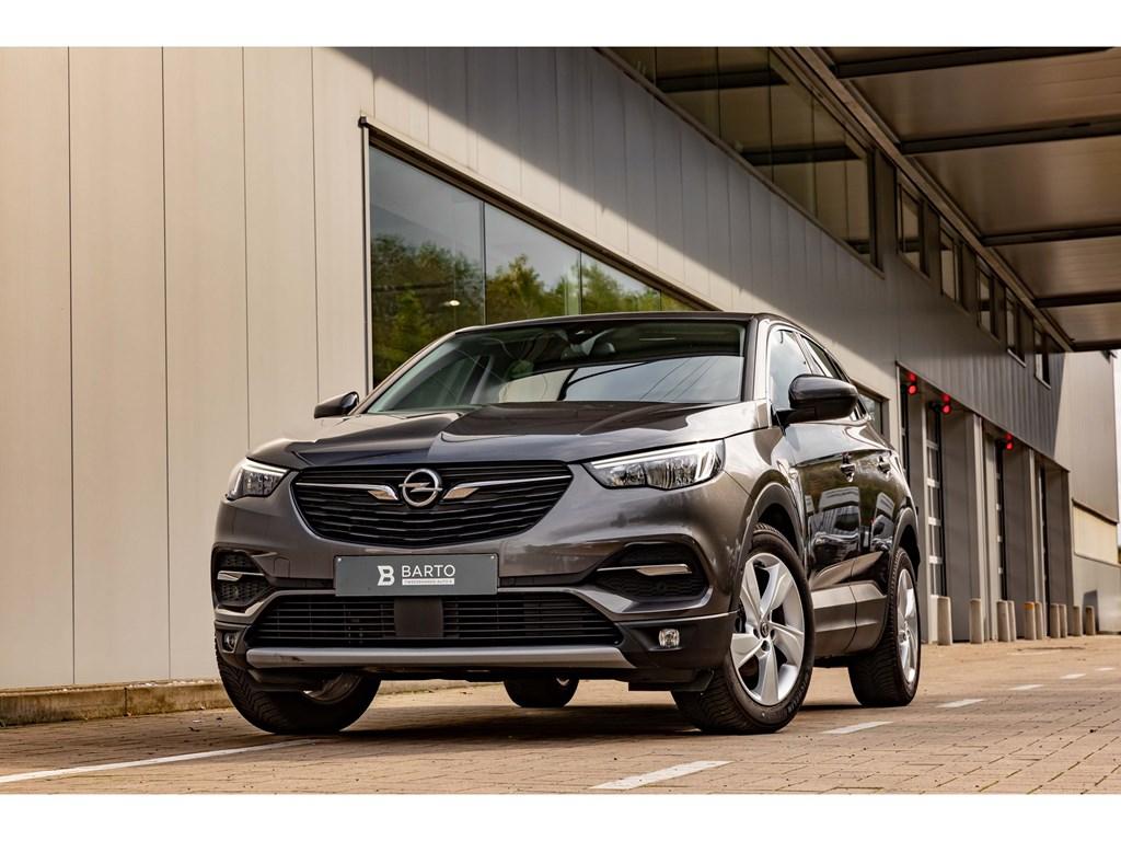 Tweedehands te koop: Opel Grandland X Grijs - 12benzInnovationCameraDodehoekOfflaneParkeersens