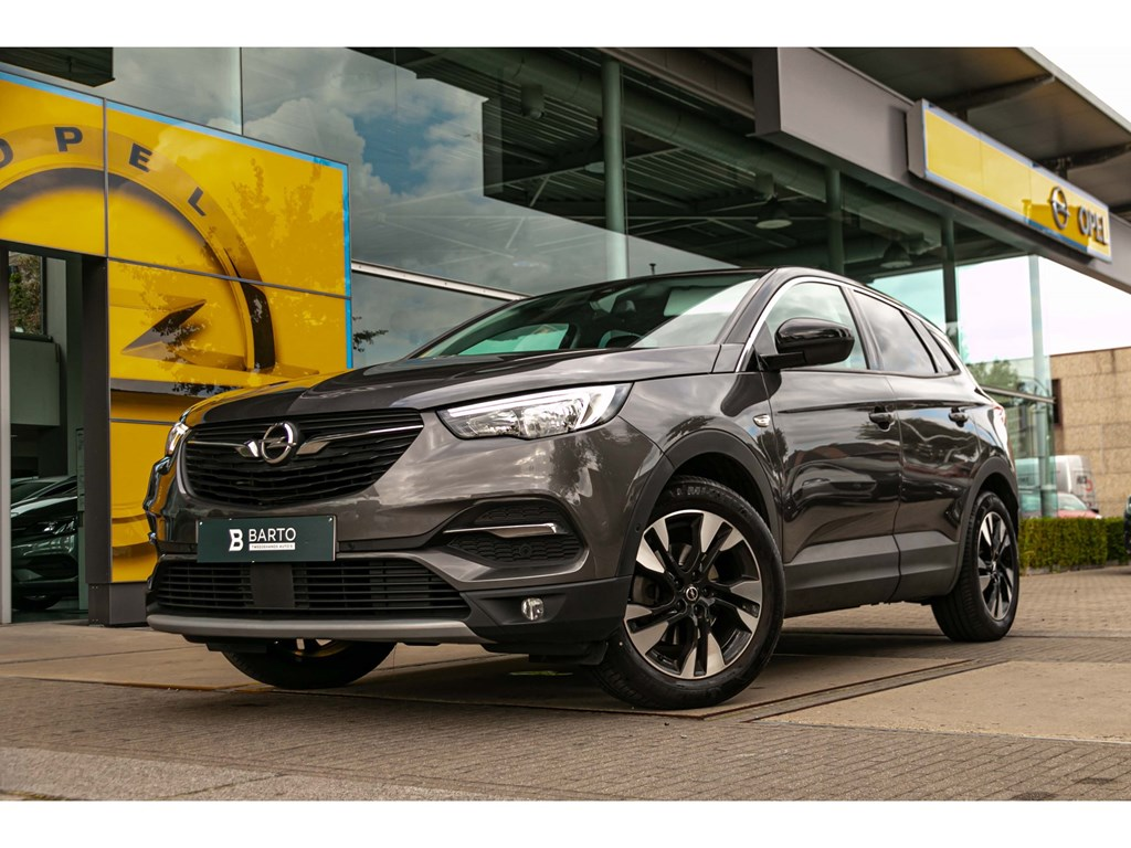 Tweedehands te koop: Opel Grandland X Grijs - 15d 130pk ATInnovationVolledig LederOfflaneTrekhaakNaviAutoAirco