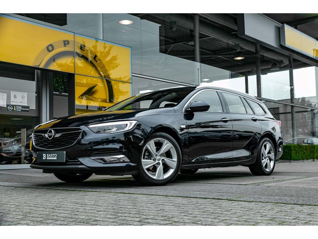 Tweedehands te koop: Opel Insignia Blauw - 15 TurboInnovationVolledig LederLEDMatrixDigit DashboardOfflaneAuto Lichten