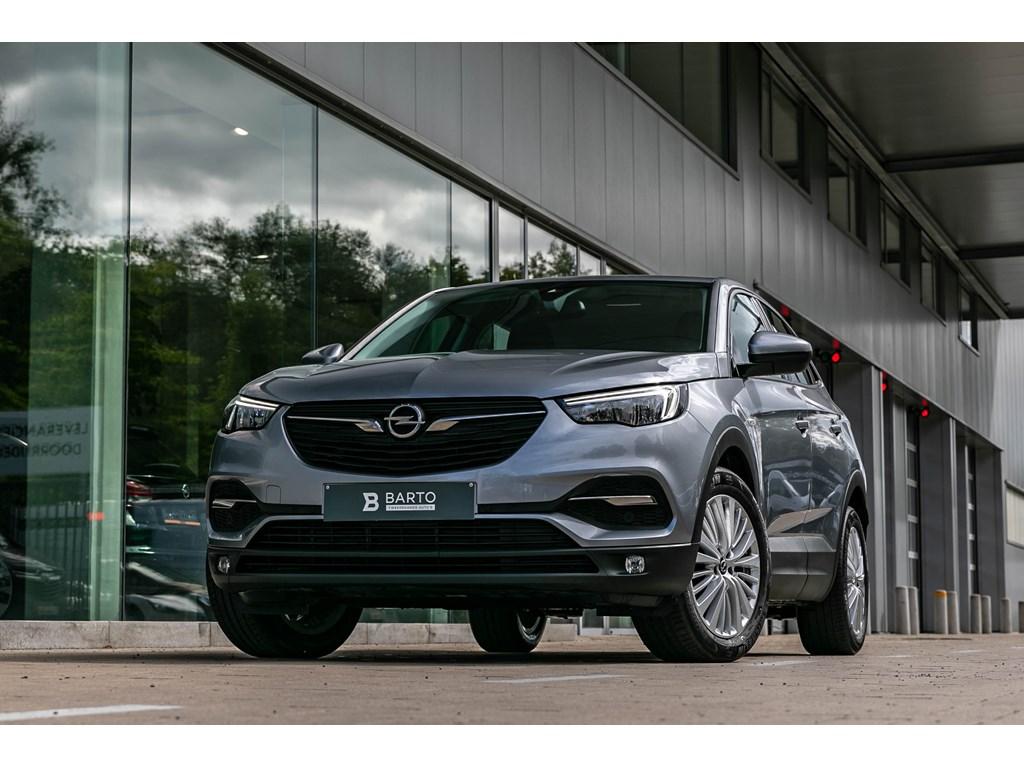 Tweedehands te koop: Opel Grandland X Grijs - 15 Diesel 130PKCameraNaviParkeersens vaAlu velgen
