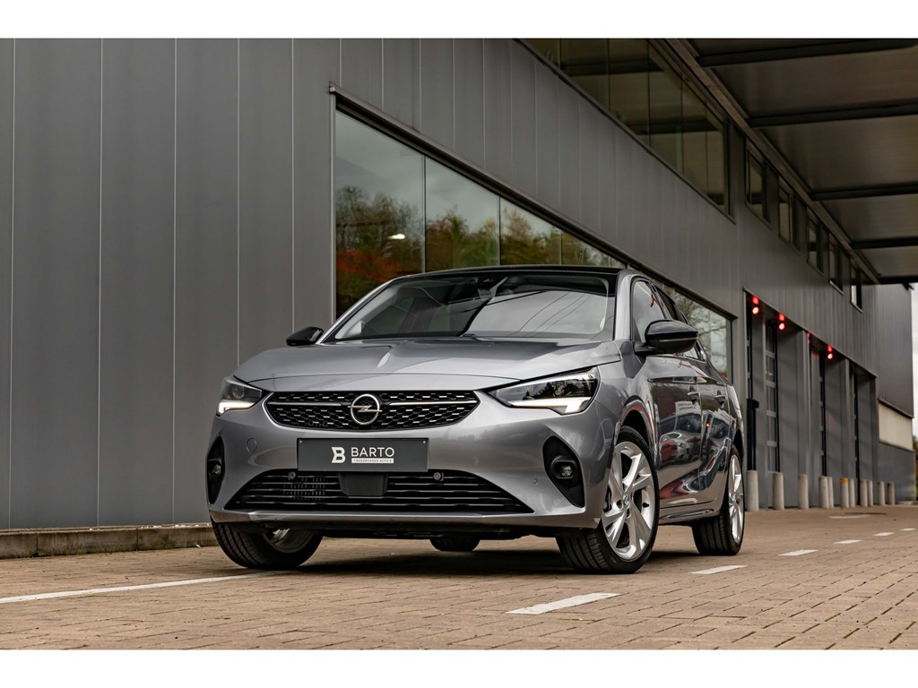 Tweedehands te koop: Opel Corsa Grijs - 12Turbo 100pkVolledig LederLEDMatrixGrote NaviPano DakMassagefuntCamera