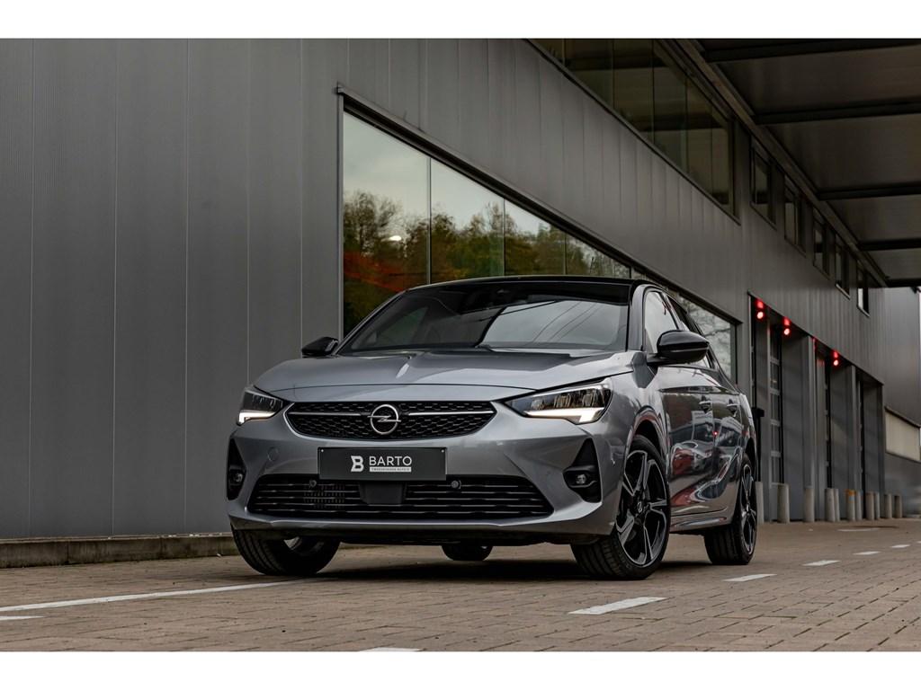 Opel-Corsa-Grijs-12Turbo-AT8-130pkGS-lineCameraAdapt-CruisectrlDodehoekKeyless