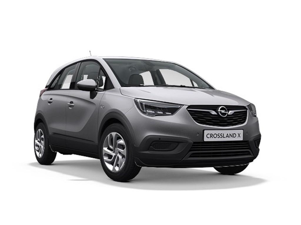 Tweedehands te koop: Opel Crossland X Grijs - Edition 12 Turbo Benz Manueel 6 StartStop 110pk 81kw - Nieuw