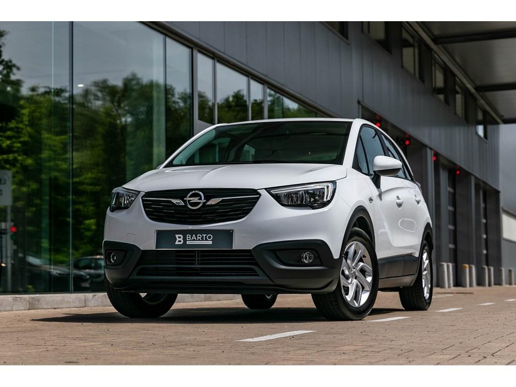 Tweedehands te koop: Opel Crossland X Wit - Edition 12 Benz 81pk 60kw NavigatieParkeersensalu velgen