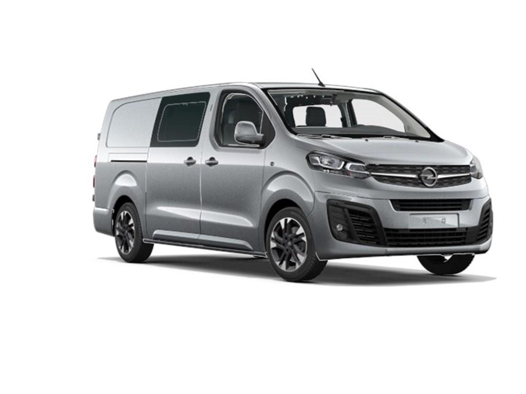 Tweedehands te koop: Opel Vivaro Grijs - Dubbele Cabine Edition L3H1 Verhoogd Laadvermogen 20 Turbo D 150pk - 5pl - Nieuw
