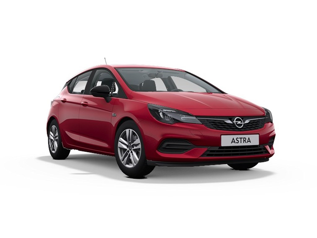 Tweedehands te koop: Opel Astra Rood - 5-deurs 12 Turbo 110pk SS Manueel 6 - Edition - Nieuw