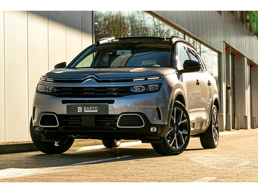 Tweedehands te koop: Citroen C5 AIRCROSS Grijs - 16 PureTech 180PK AT ShinePANO DAKGRIP CONTROLPARK ASSIST 360