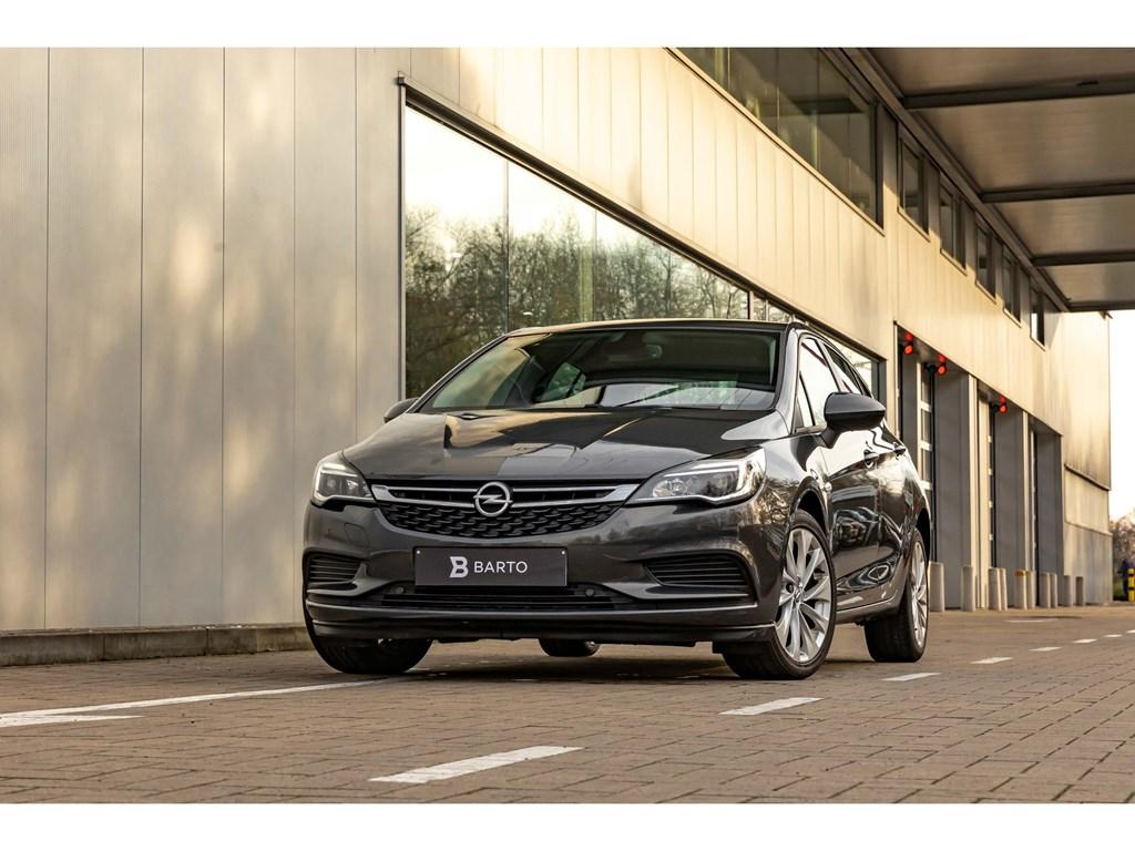 Opel-Astra-Grijs-16-Diesel-ParkeersensAircoAlu-velgenAuto-Lichten