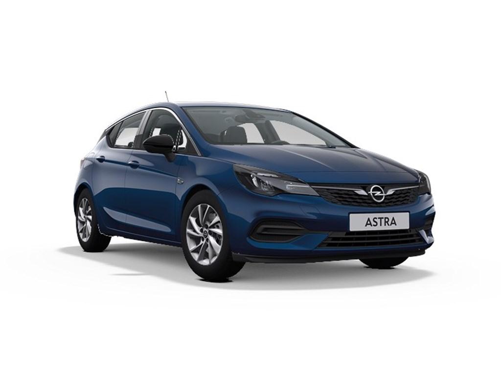 Tweedehands te koop: Opel Astra Blauw - 5-Deurs 12 Turbo Benz 110pk SS Manueel 6 - Elegance - Nieuw