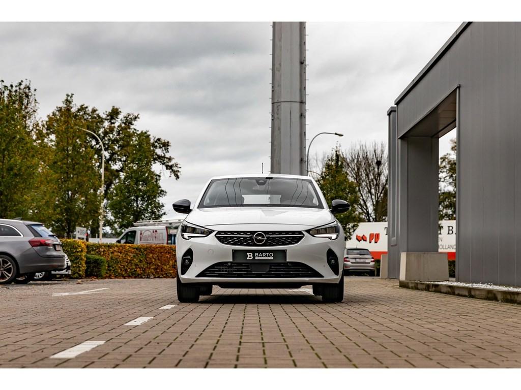 Tweedehands te koop: Opel Corsa Wit - 12T 100pkEleganceCameraDigitaal DashboardParkeersens vaDodehoekAuto Airco
