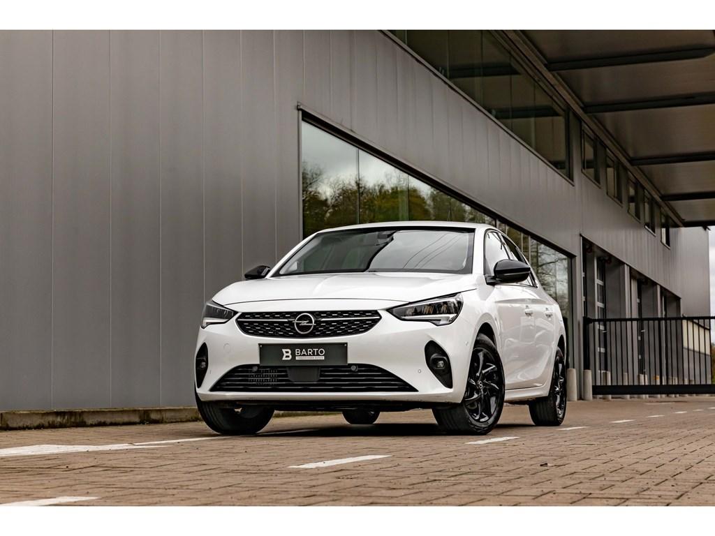Opel-Corsa-Wit-12T-100pkEleganceCameraDigitaal-DashboardParkeersens-vaDodehoekAuto-Airco