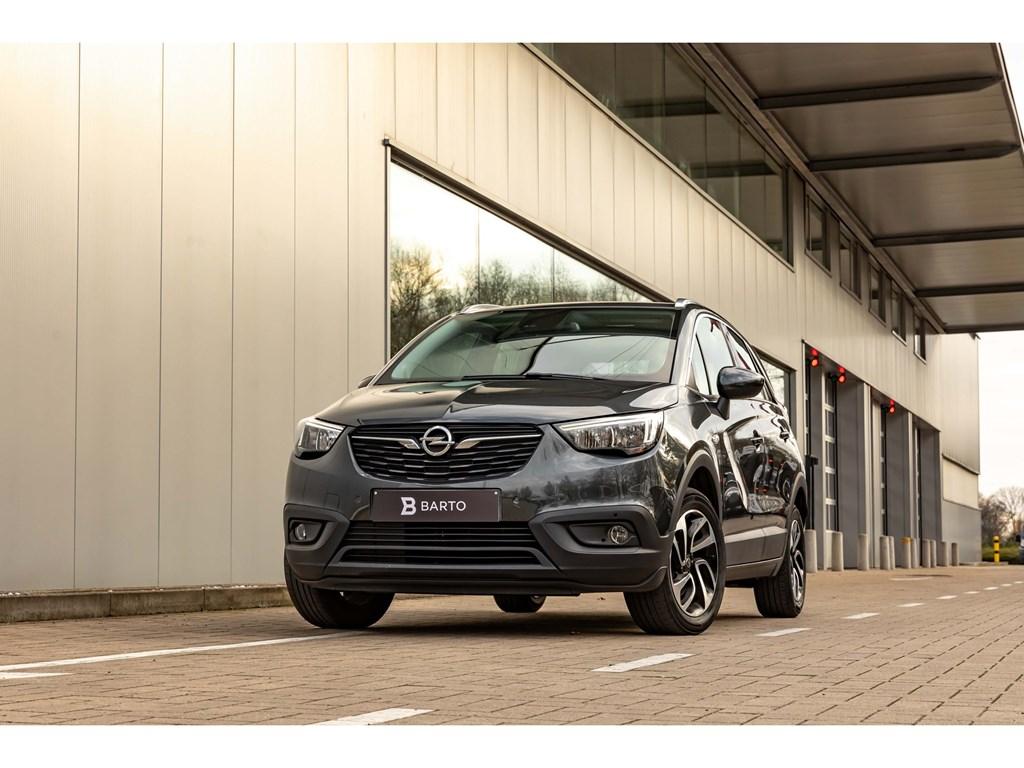 Tweedehands te koop: Opel Crossland X Grijs - 12 Turbo 110pkInnovationCameraDodehoeksensNaviAuto Airco