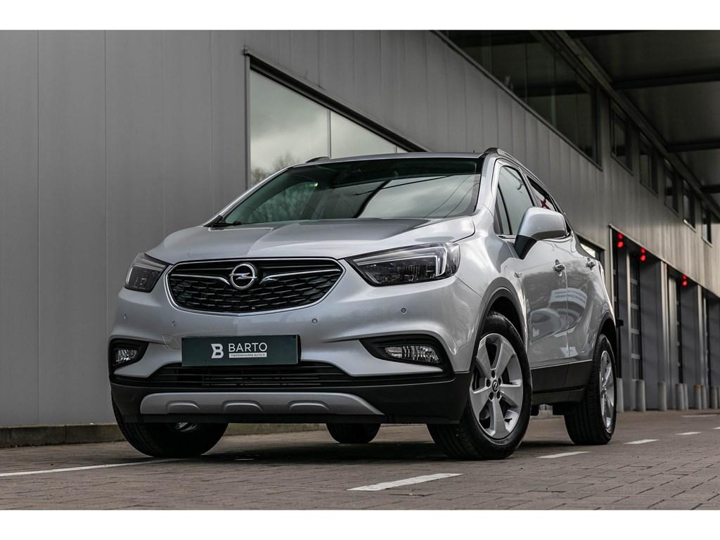 Tweedehands te koop: Opel Mokka X Grijs - 14T Benz ATOfflaneLEDMatrixCameraAuto Airco