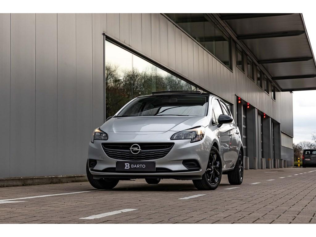 Tweedehands te koop: Opel Corsa Zilver - 12BenzBlack EditionPano DakNaviAirco