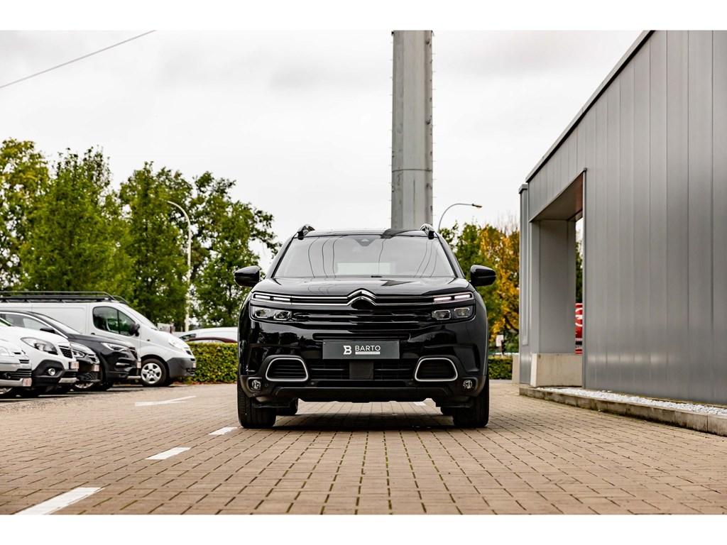 Citroen-C5-AIRCROSS-Zwart-Benz-130pkSHINECameraElektr-KofferAdapt-CruisectrlDode-Hoeksens-