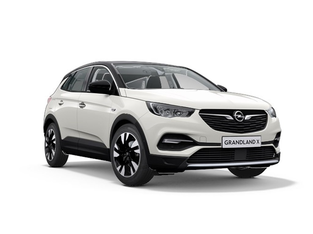 Tweedehands te koop: Opel Grandland X Wit - Innovation 12 Turbo Benz 130pk Manueel 6 versn - Nieuw