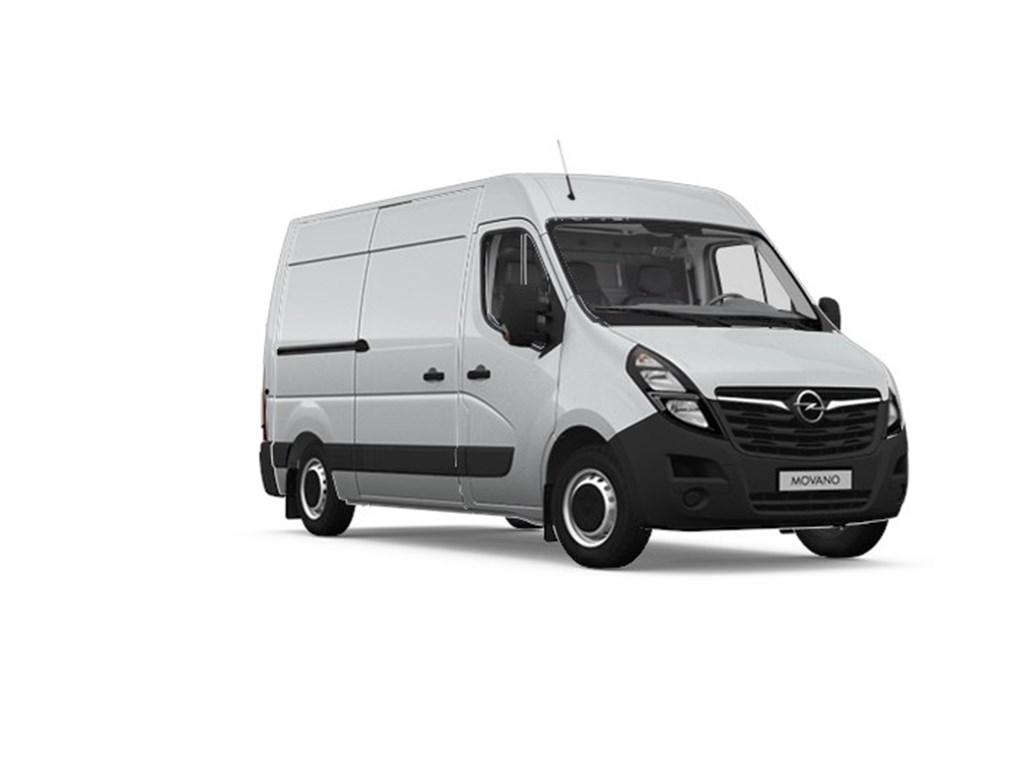 Tweedehands te koop: Opel Movano Zilver - Gesloten Bestelwagen L2H2 - 23 Turbo D 135pk 99kw FWD 35MTM - Nieuw