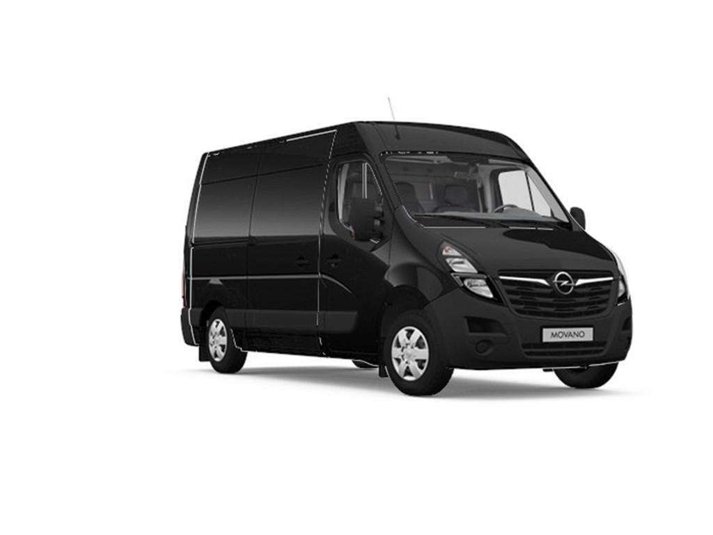 Tweedehands te koop: Opel Movano Zwart - Gesloten Bestelwagen L2H2 - 23 Turbo D 135pk 99kw FWD 35MTM - Nieuw