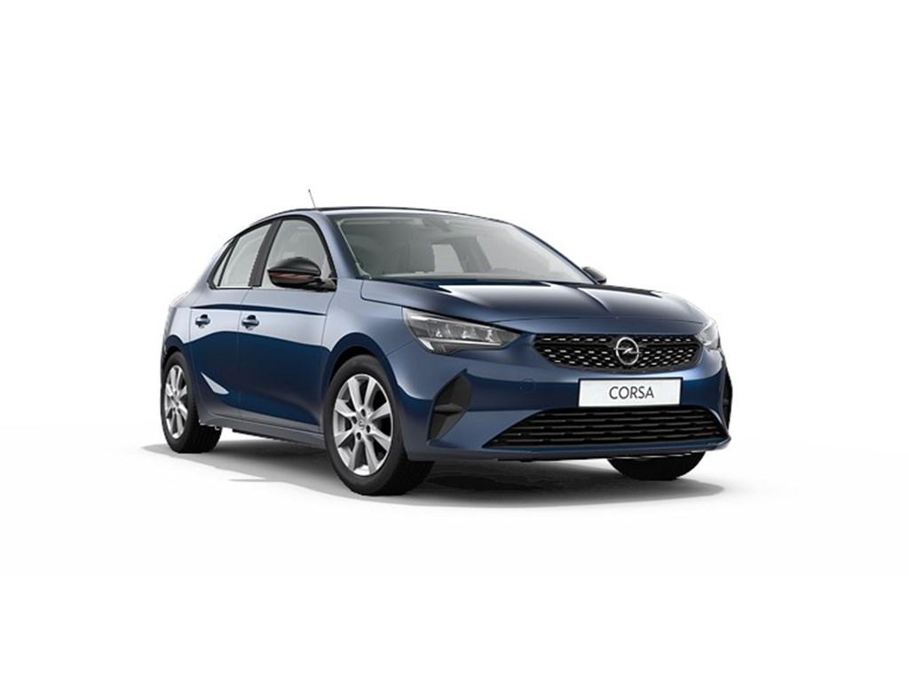 Tweedehands te koop: Opel Corsa Blauw - 5-deurs Edition 12 Turbo benz 100pk Automaat 8 StartStop - Nieuw