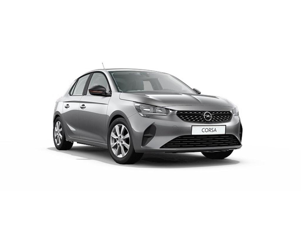 Opel-Corsa-Grijs-5-deurs-Edition-12-Turbo-Benz-100pk-Nieuw