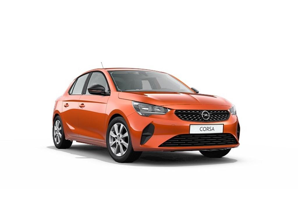 Tweedehands te koop: Opel Corsa Oranje - 5-deurs Edition 12 Turbo Benz 100pk - Nieuw