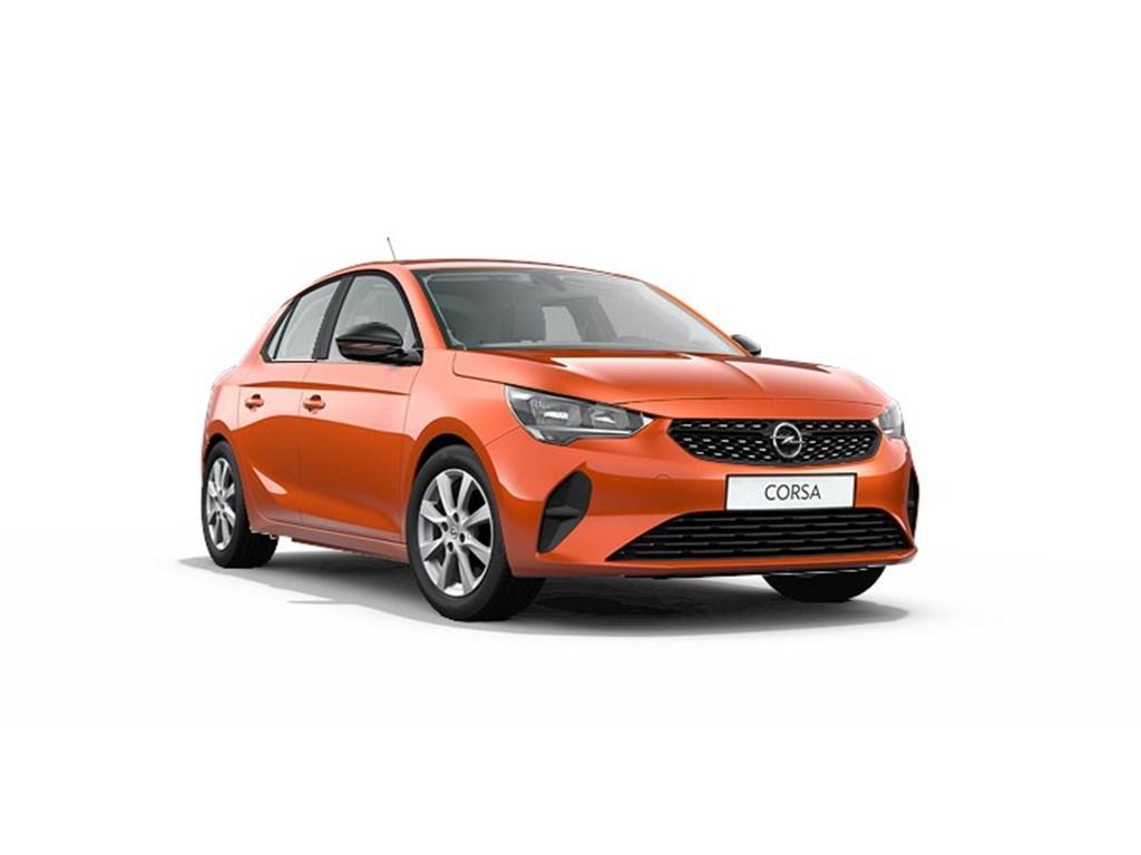 Opel-Corsa-Oranje-5-deurs-Edition-12-Turbo-Benz-100pk-Nieuw