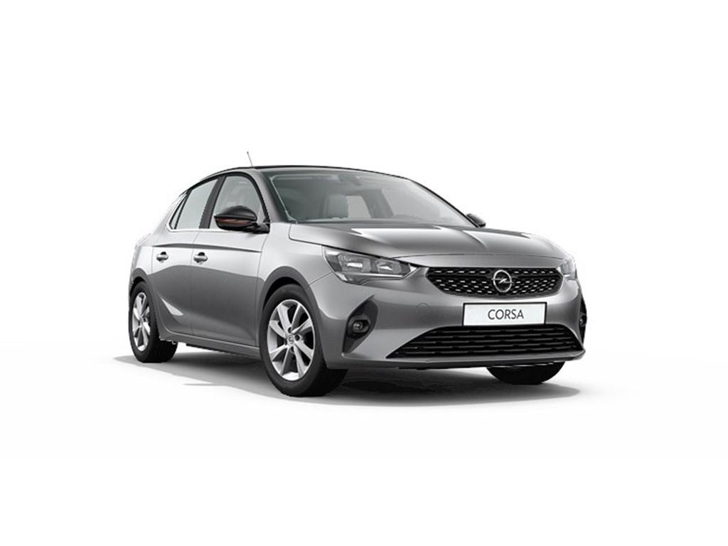 Tweedehands te koop: Opel Corsa Grijs - 5-deurs Elegance 12 Turbo Benz Manueel 6 StartStop - 100pk - Nieuw