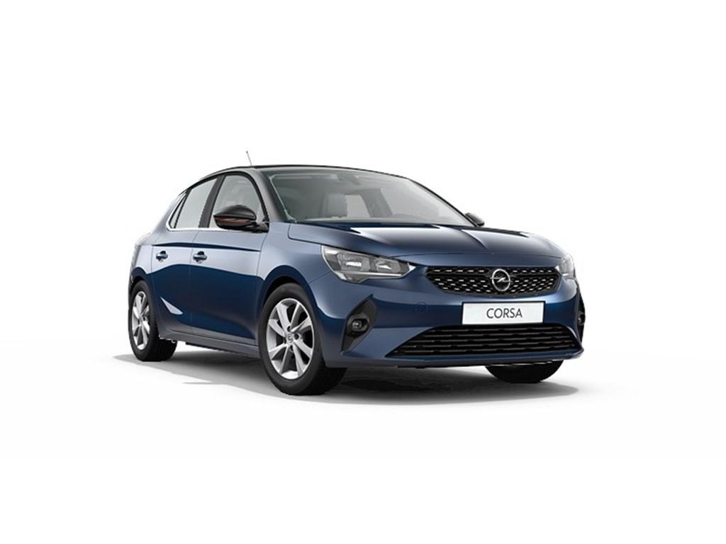 Tweedehands te koop: Opel Corsa Blauw - 5-deurs Elegance 12 Turbo Benz Manueel 6 StartStop - 100pk - Nieuw